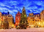 Рождество в Скандинавии: автобус + паром
