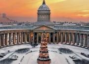 Рождество в Санкт -Петербурге